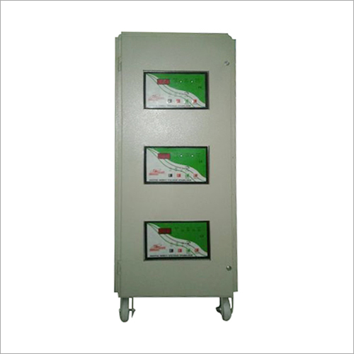 Air Cooled High Capacity Servo Stabilizers