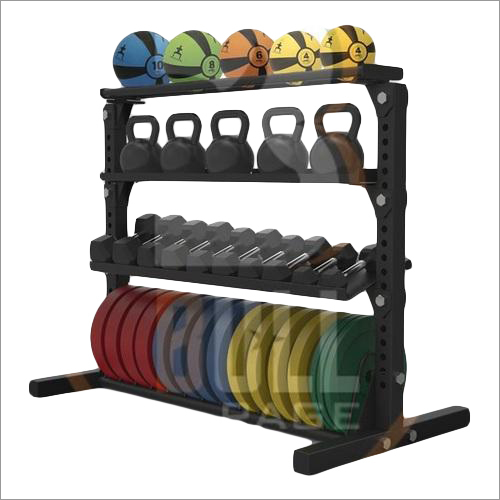 Dumbbell - Weight Plates and Rods Rack