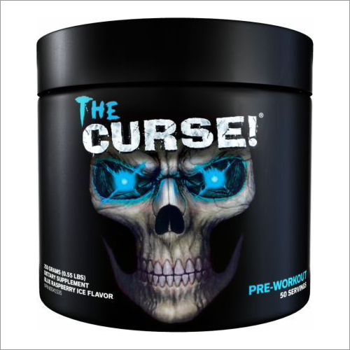 The Curse Pre Workout Protein Powder