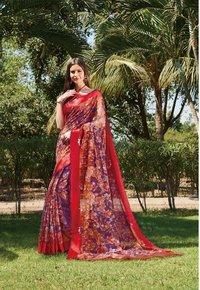 Digital Printed Silk Sarees