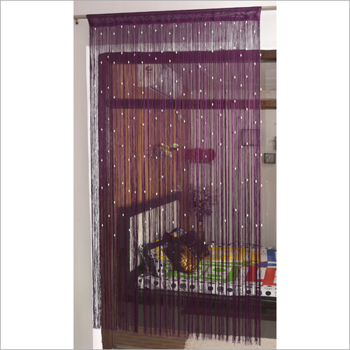 Home Furnishing Coloured Beaded Curtain