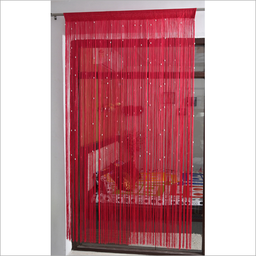 Window Beaded Home Furnishing Curtain