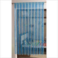 Plástico redondo cortina viva Beaded do quarto