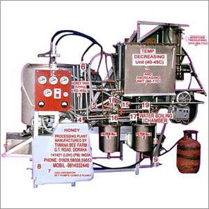 Industrial Honey Processing Plant