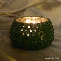 Mercury Beautiful Glass Candle Holder
