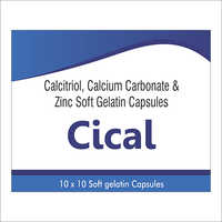 Calcitriol Zinc Soft Gelatin Capsules