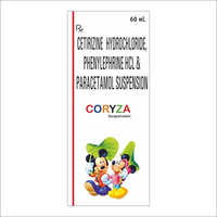 Cetirizine Hydrochloride Paracetamol Suspension