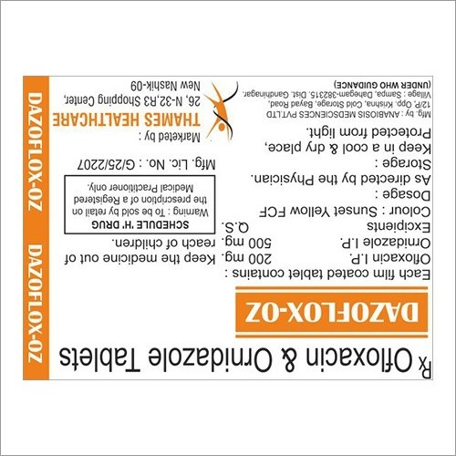 Ofloxacin & Ornidazole Tablet