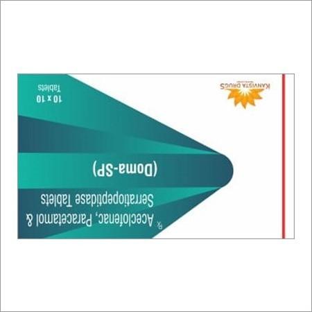 Aceclofenac Serratiopeptidase Tablet