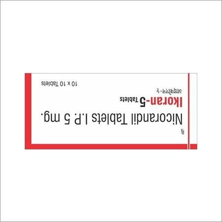5mg Nicorandil Tablet