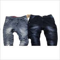 Mens Designer Crushed Jeans