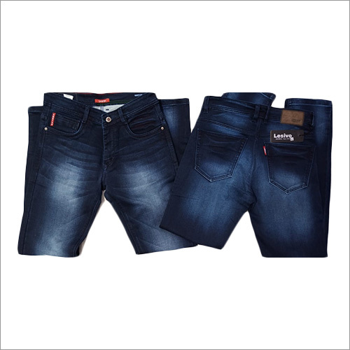 Mens Narrow Fit Plain Jeans