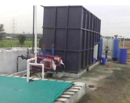 Prefabricated Skid Mounted Sewage Treatment Plant