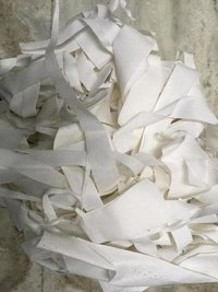White Polyster Fabric Waste