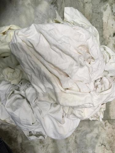 White Cotton Bawan Fabric Waste