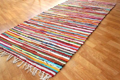 Multi Chindi Rag Rug