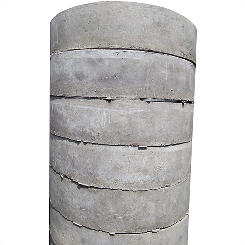 Round Precast Concrete Well Manhole Ring