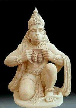 Marble Hanuman Ji Statue