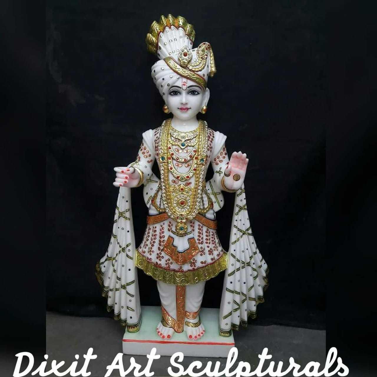 Marble Swami Narayan Ji