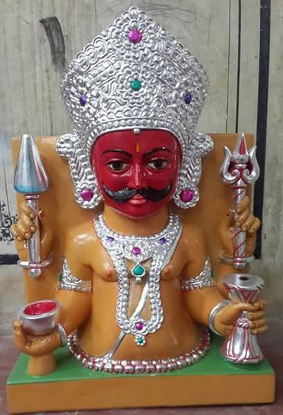 Marble Kala Gora Bhairave Nath