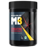 MuscleBlaze Creatine Monohydrate, Unflavoured(0.1kg) 0.22 lb