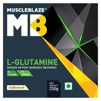 MuscleBlaze L-Glutamine,(0.25kg) 0.55 lb Unflavoured