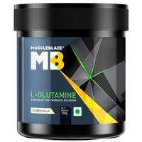 MuscleBlaze L-Glutamine,(0.1kg) 0.22 lb Unflavoured