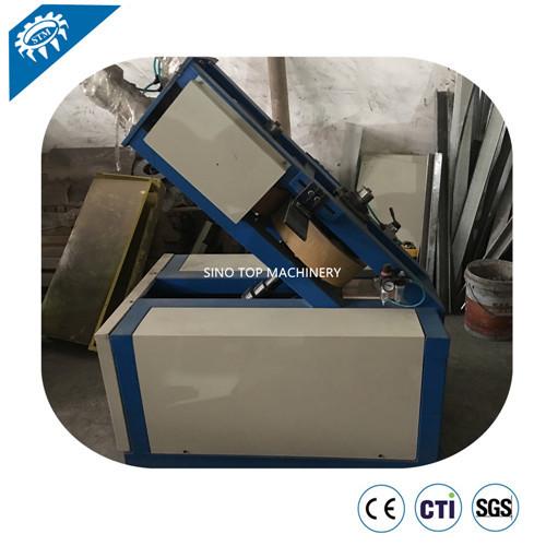 Coil Edge Protector Machine
