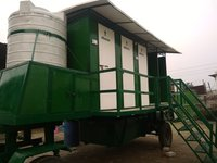 3 Seater Mobile Toilet Vans