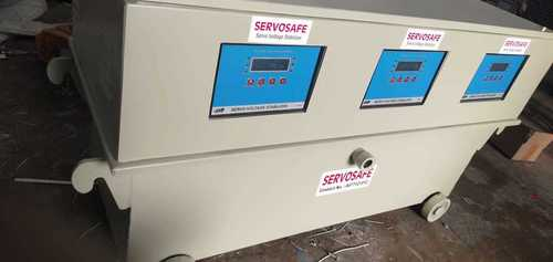 25 KVA Three Phase Oil cool industrial Servo Stabilizer