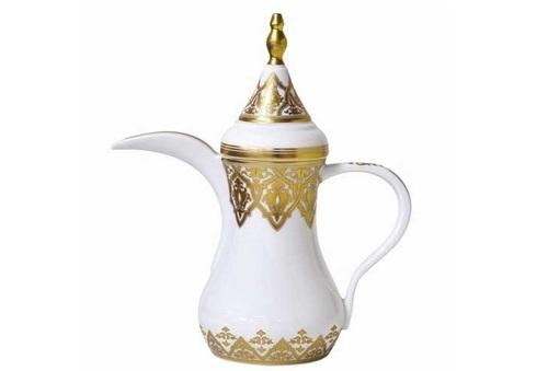 White Arabic Coffee Pot