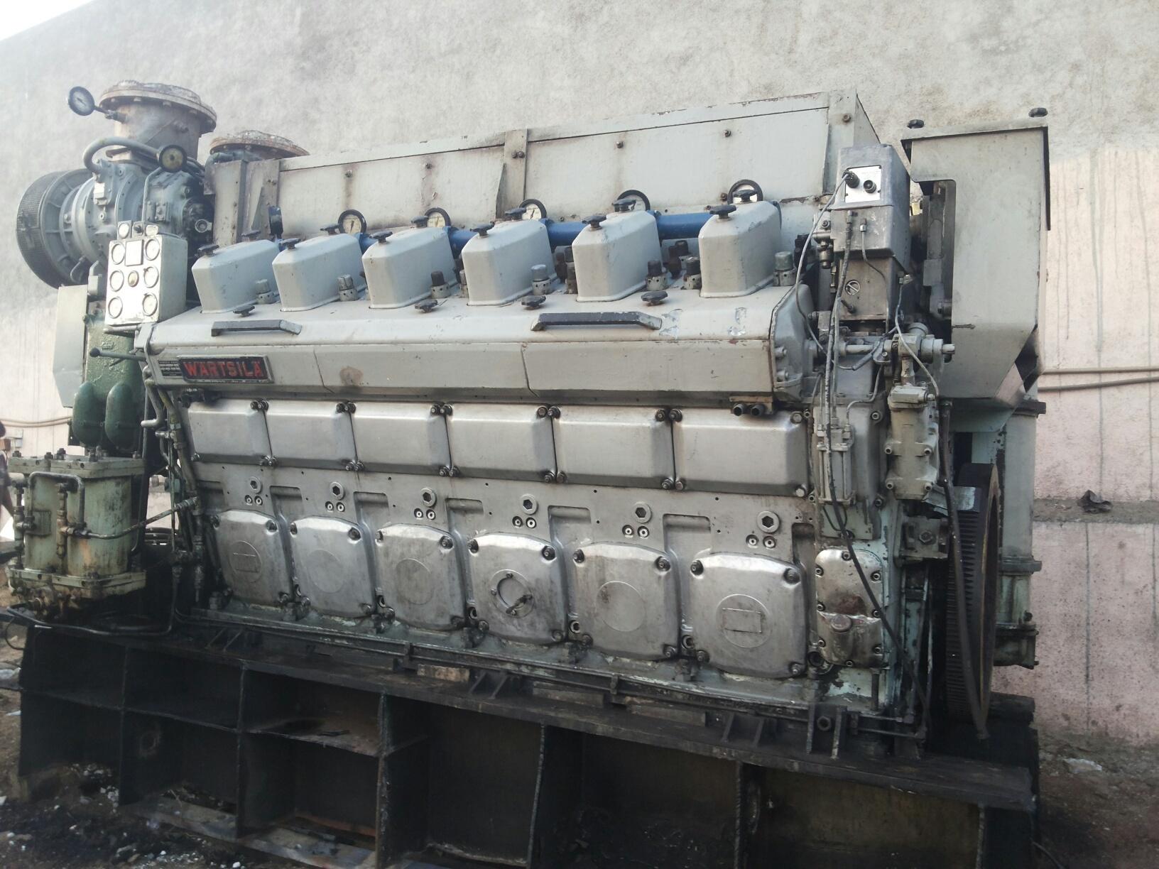 Wartsila 12V22HF Marine Engine