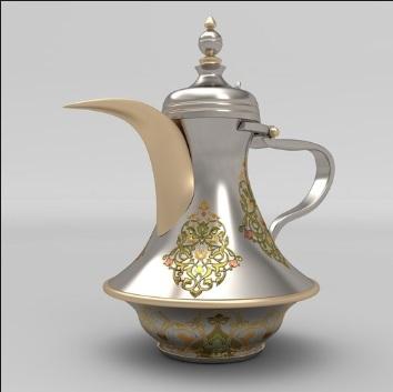 Dallah Arabic Coffee Pot Tea
