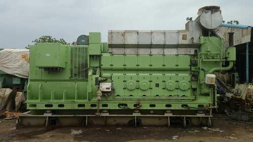 Man B&W 7L27/38 Diesel Generator