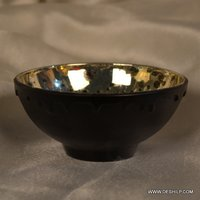 SILVER FINISH DINNER TABLE BOWL