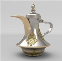 Brass Dallah Tea Pot