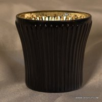 SILVER T LIGHT CANDLE HOLDER