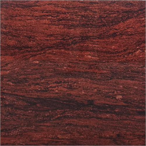Silky Red Granite Slab