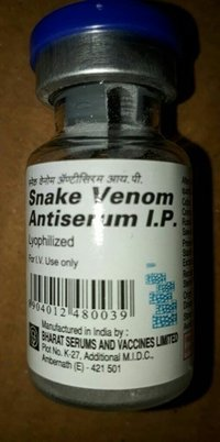 Snake Venom Antiserum IP