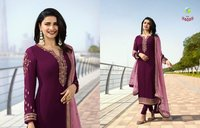 Silk Georgette Designer Suits