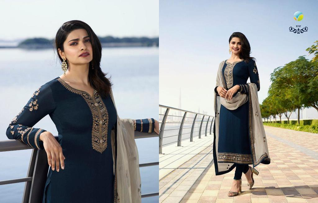 Silk Georgette Designer Suits