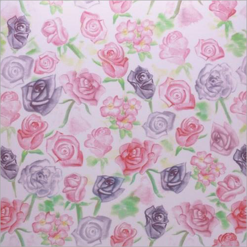 Floral Print PP Sheet