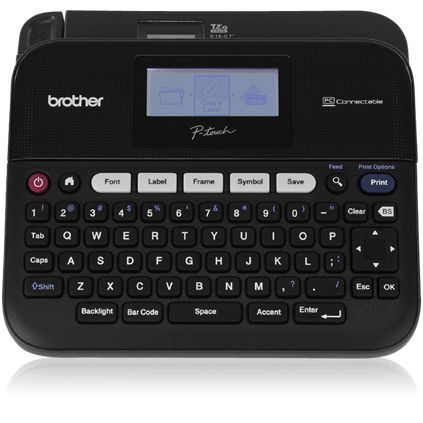PT- D450,Versatile,PC Connectable Label Maker