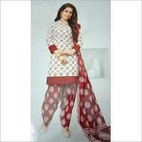 Batik Salwar Suit