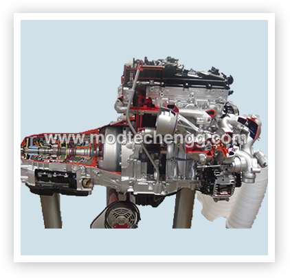 Engine Assembly with Clutch & Gear Box