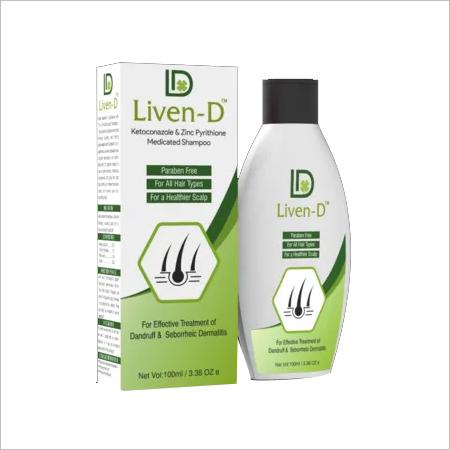 liven D Anti Dandruff medicated Shampoo