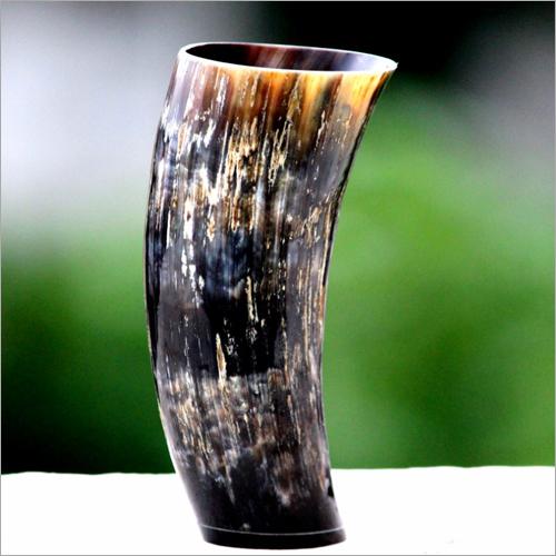 Glossy Horn Mug