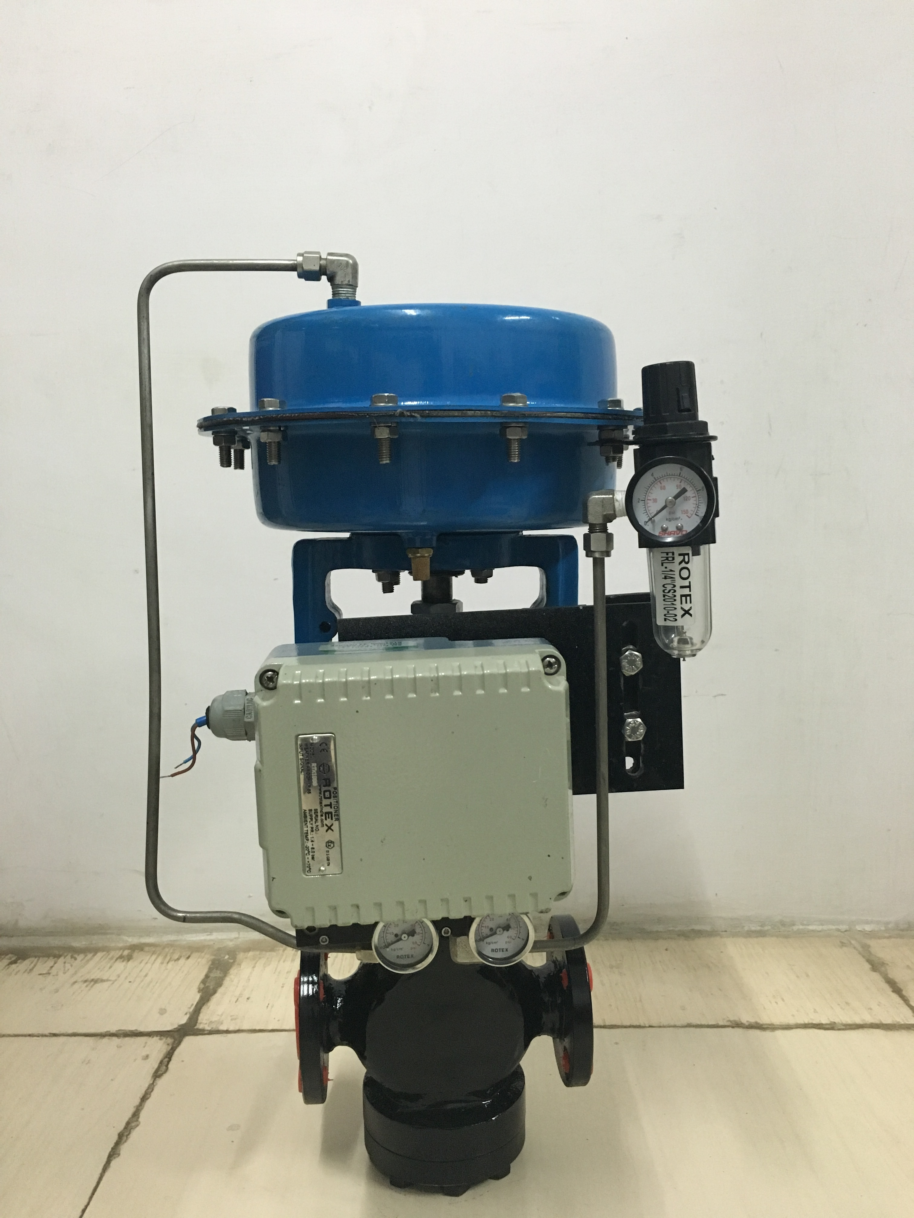 Thermic Fluid Control Valve