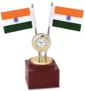 GE Watch With 2 Flag