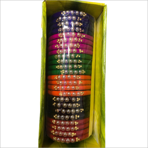 Plastic Beads Bangle